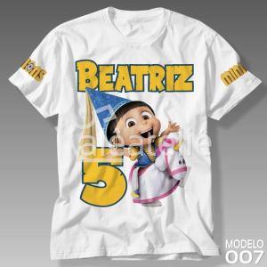 Camiseta Minions 007