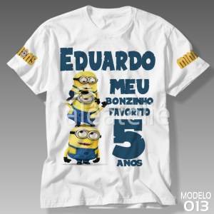 Camiseta Minions 013