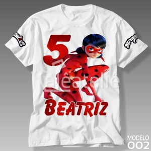 Camiseta Miraculous Ladybug
