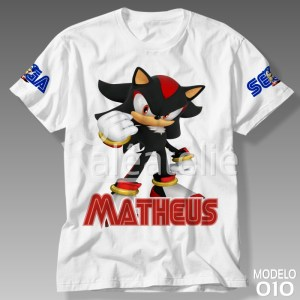 Camiseta Sonic Shadow