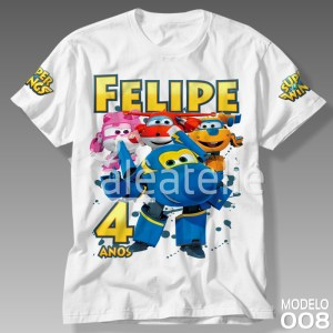 Camiseta Super Wings 008