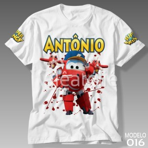 Camiseta Super Wings Flip