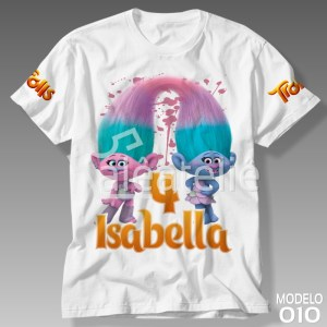 Camiseta Trolls 010