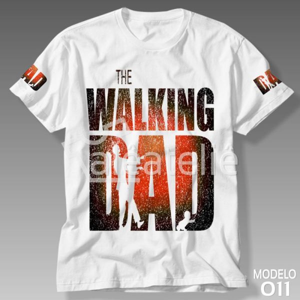 Camiseta Papai The Walking Dad