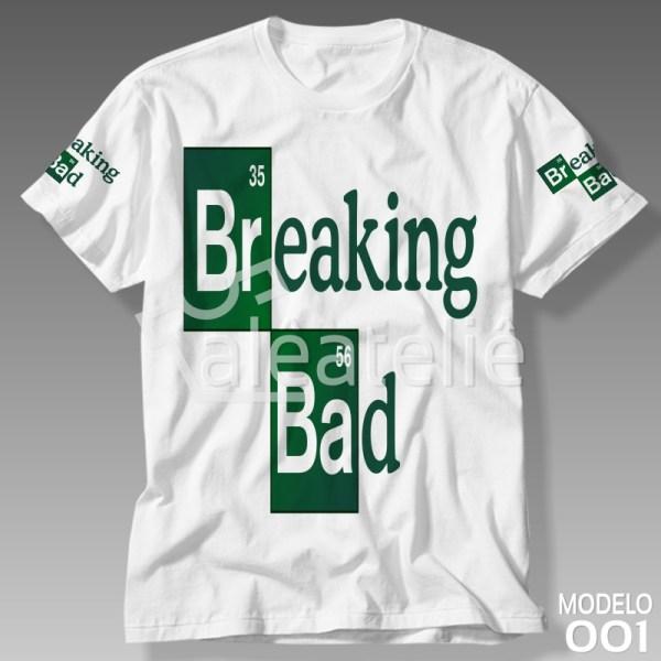 Camiseta Breaking Bad Personalizada
