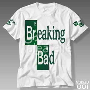 Camiseta Breaking Bad Personalizada