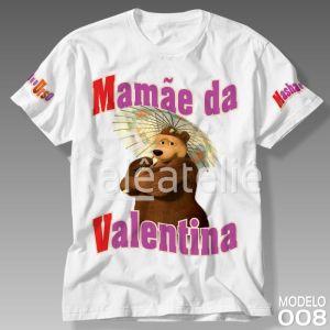 Camiseta Masha e Urso 008