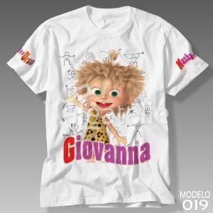 Camiseta Masha Urso Caverna