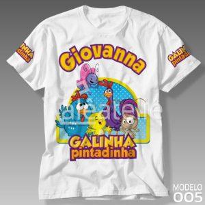 Camiseta Galinha Pintadinha 005