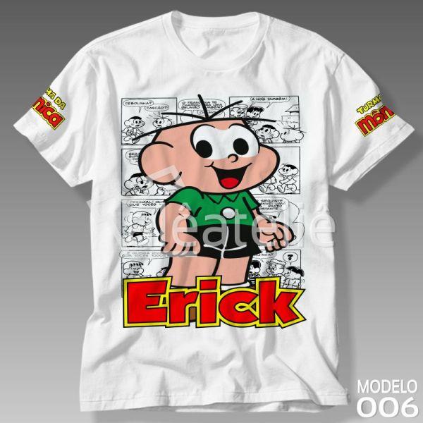 Camiseta Cebolinha