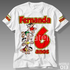 Camiseta Turma da Mônica 013
