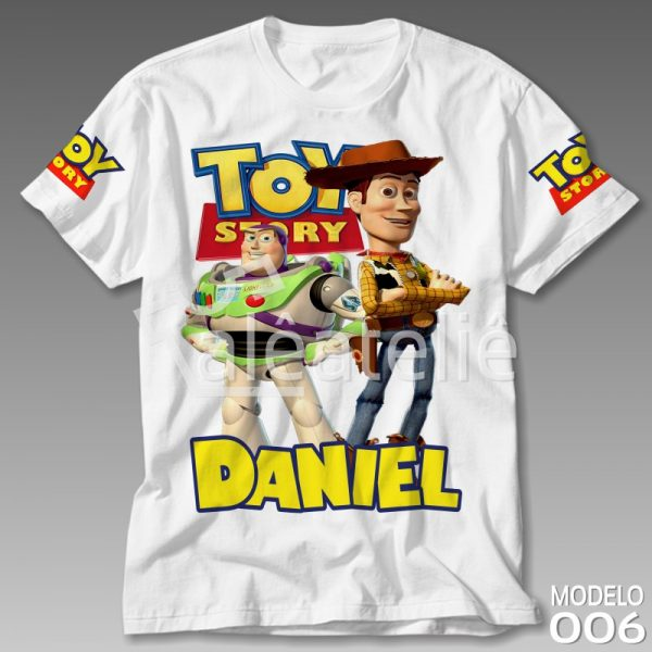 Camiseta Toy Story Woody Buzz