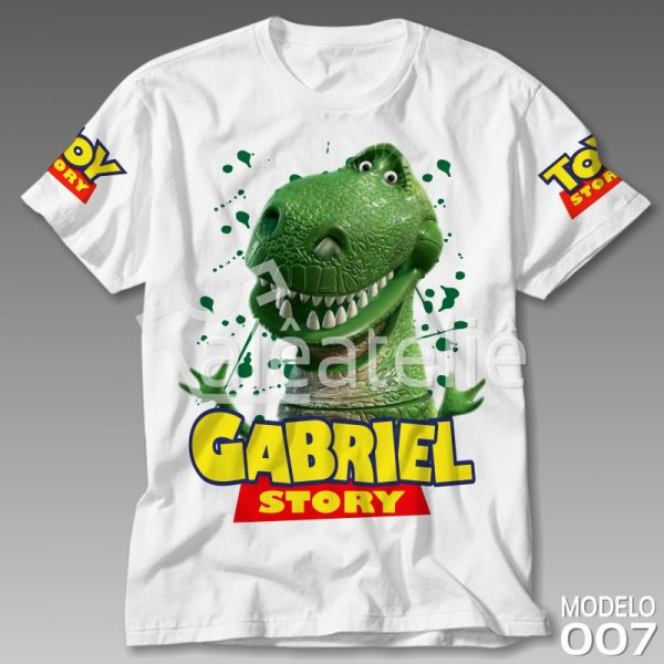 Camiseta Toy Story Rex
