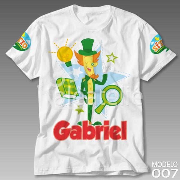 Camiseta Sitio Picapau Amarelo Visconde