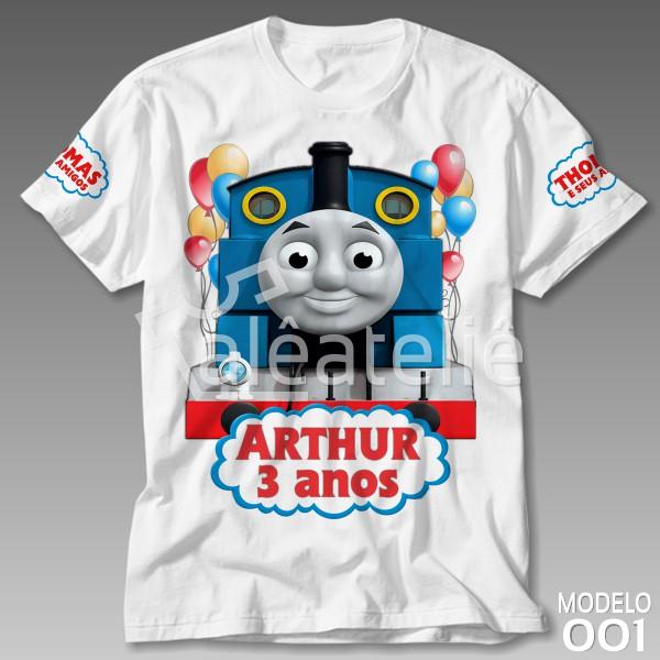 Camiseta Thomas e Seus Amigos