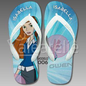 Chinelo Ben 10 Gwen