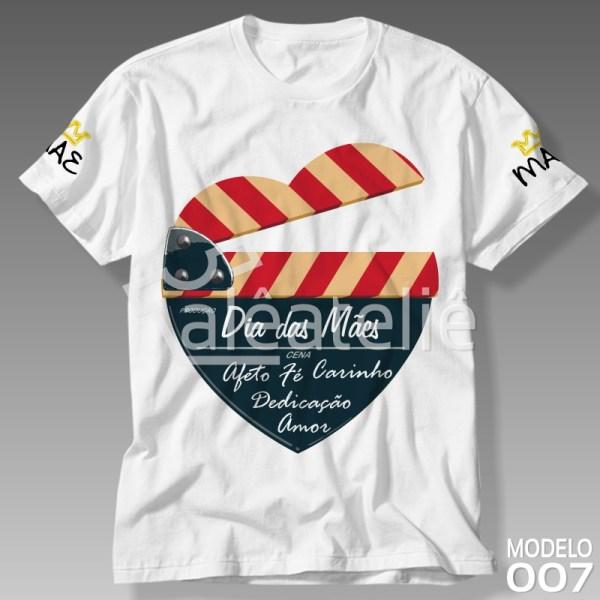 Camiseta Dia das Mães Personalizada
