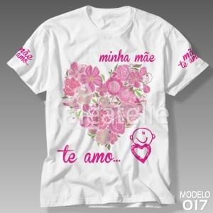 Camiseta Dia das Mães Te Amo