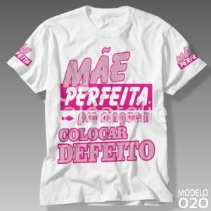 Camiseta Dia das Mães Perfeita
