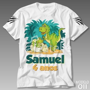 Camiseta Dinossauro 011