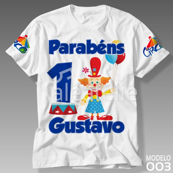 Camiseta Circo Personalizada
