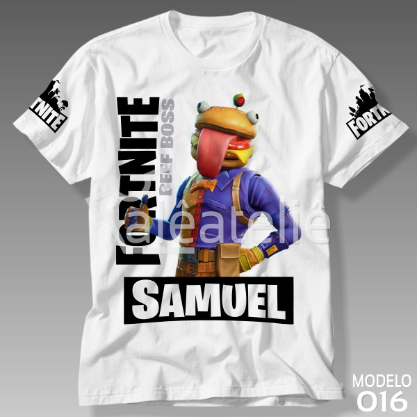 Camiseta Fortnite Beef Boss