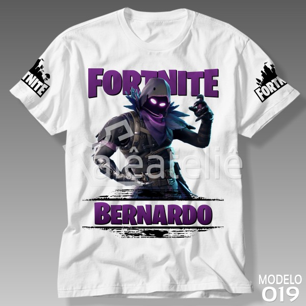 Camiseta Fortnite Raven