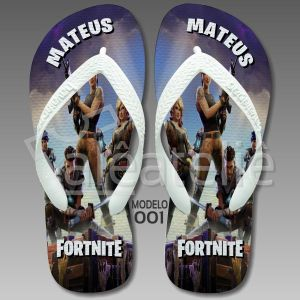 Chinelo Fortnite 001