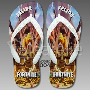 Chinelo Fortnite Personalizado