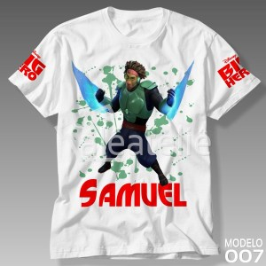 Camiseta Big Hero 007