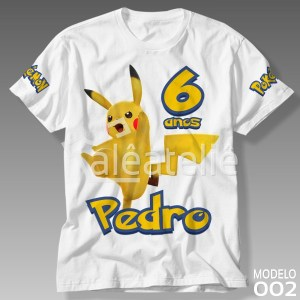 Camiseta Pokemon 002