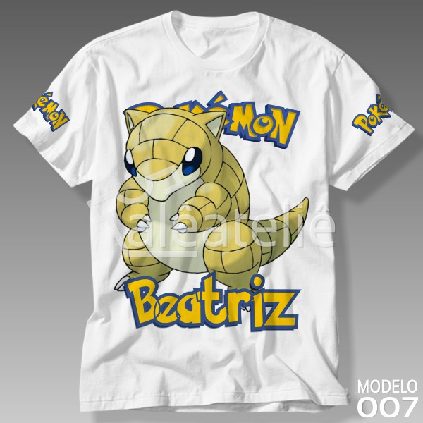 Camiseta Pokemon Sandshrew