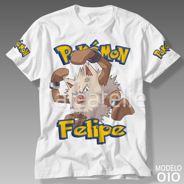 Camiseta Pokemon Primeape