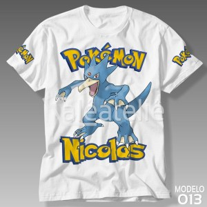 Camiseta Pokemon Golduck