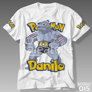 Camiseta Pokemon 015