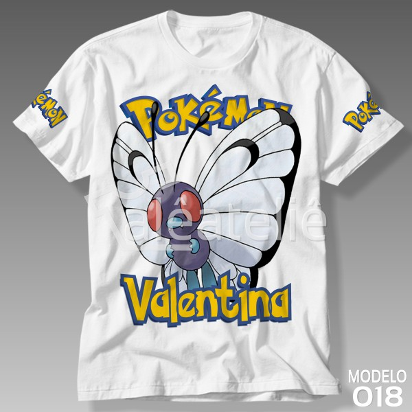 Camiseta Pokemon Butterfree