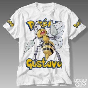 Camiseta Pokemon 019