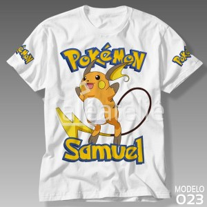 Camiseta Pokemon 023