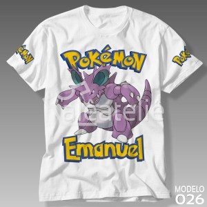 Camiseta Pokemon Nidoking