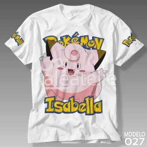 Camiseta Pokemon Clefable