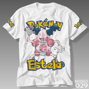 Camiseta Pokemon Mr Mime