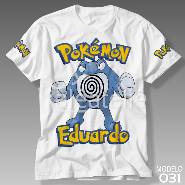 Camiseta Pokemon Poliwrath