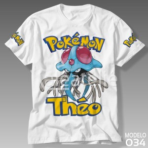 Camiseta Pokemon 034