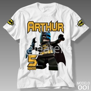 Camiseta Batman 001