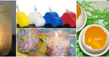 Alea's Deals 20 DIY Candle Crafts