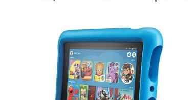 """Alea's Deals Fire 7 Kids Edition Tablet, 7"""" Display, 16 GB, Blue Kid-Proof Case Up to 40% Off! Was $99.99!"""