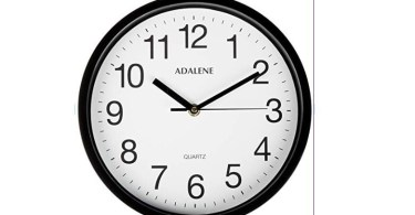 """Alea's Deals 10"""" Adalene Classroom Wall Clock Up to 69% Off! Was $34.95!"""