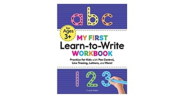 Alea's Deals My First Learn to Write Workbook Up to 40% Off! Was $8.99!