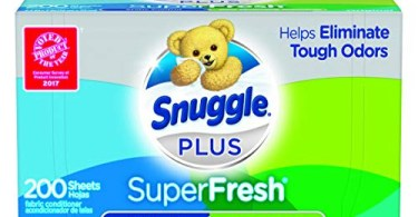 Alea's Deals Snuggle Plus SuperFresh Fabric Softener Dryer Sheets, 200 Count  – ON SALE+SUB/SAVE!