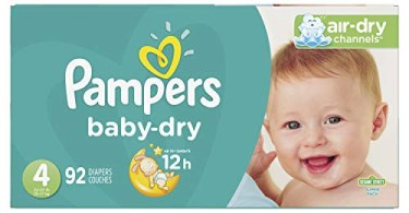 Alea's Deals Pampers Baby Dry Disposable Baby Diapers Up to 41% Off! Was $41.29 ($0.45 / Count)!